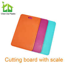 Best selling flexible plastic cutting board set for kitchen