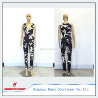 Picture Sexy Ladies Free Designs Boutique Sleeveless Black White Romper Jumpsuit Dress, Casual Dress Jumpsuit With Trousers