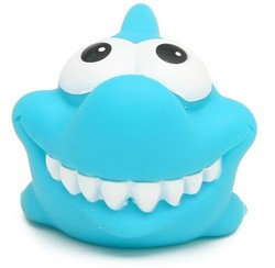 Squirting Rubber Shark toys with Sound for Baby Bath