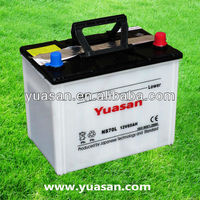 Top 12V65AH Japanese Dry Car Battery-NS70L