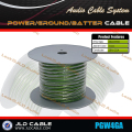China supplier 4guage power electric wire cable for car loudspeaker