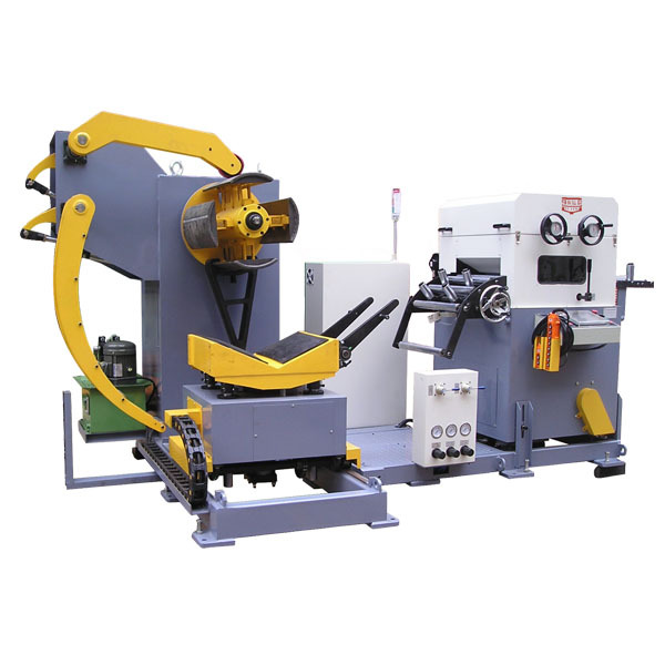 Chinese decoiler leveler and feeder machine for middle plate