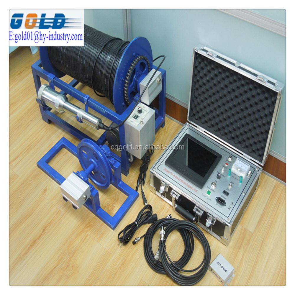 Good Price !!! Borewell Borehole Inspection Camera And 500mBorehole Camera for Underwater Well