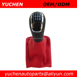 YUCHEN Car Shift Gear Knob With Gaitor Pink Gear Shift Knob For Audi A6L OEM 8K0.863287
