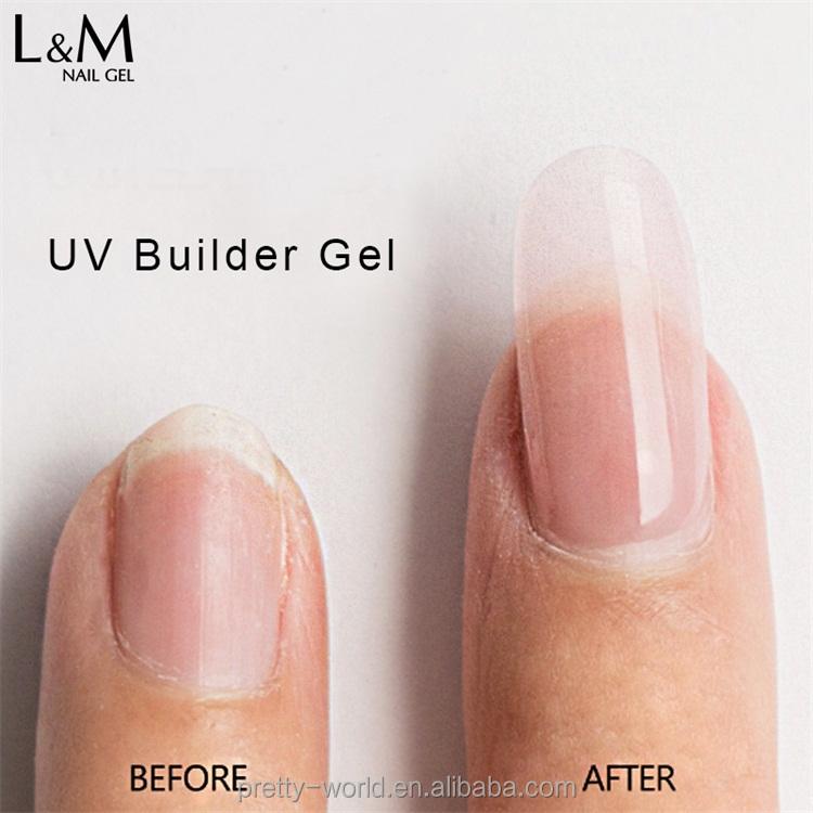 L&m Wholesale Nail Extension Kit Uv Gel Polish Nail Builder Gel ...