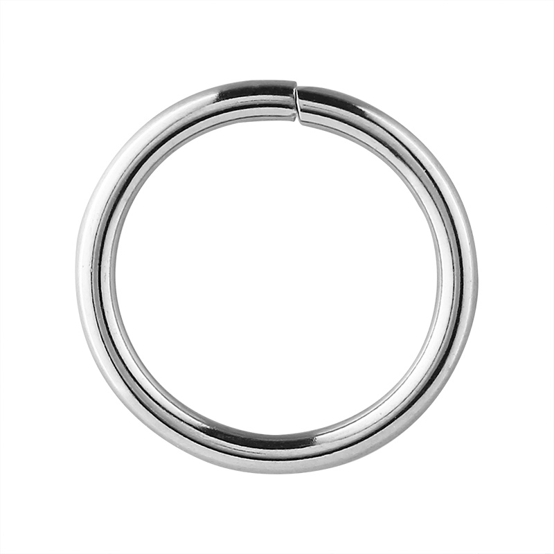 OEM hardware product naps buckle round metal ring for bag
