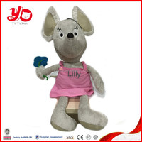 Cute plush mouse doll, soft mouse dolls for baby