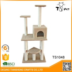 Cats Application and Pet Toys Type cat climbing towers