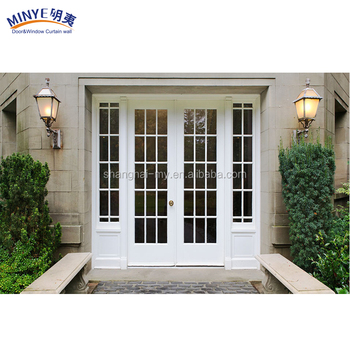 New brand high quality interior door pvc door french glass door