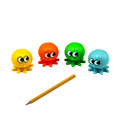 OEM Custom Small Plastic octopus pencil topper