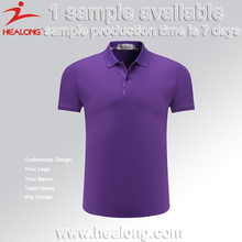 Healong 3D Sublimation India Different Color Collar Polo Shirt