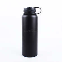 Amazon Best Seller Vacuum Insulated Stainless Steel Sports Water Bottle 600ml with Straw Lid