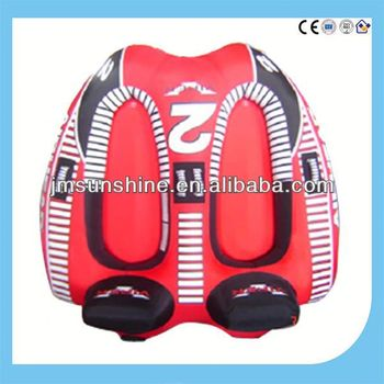 heavy duty inflatable snow tubes / water ski tube