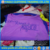 buy top quality and low price second hand used clothes t-shirts for women in bales uk