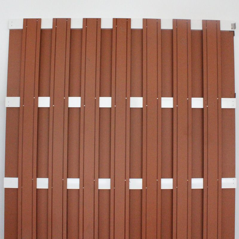 1800*1800 Good Quality WPC Fence 15 years Warranty