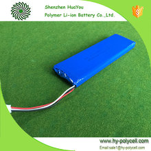 High Capacity 1244147 7.4V 4000Mah Lipo Rechargeable Battery Pack