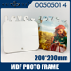 Sublimation MDF Photo Frame For Lovers 200*200MM NO.00505014
