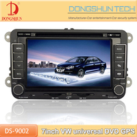"Scirocco 7"" china car audio with TV camera optional"