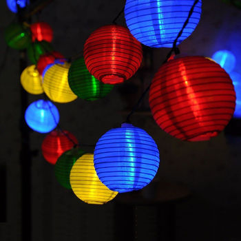 6m 50leds solar/ outlet plug/battery operated mini led string lights indoor chinese lantern string lights outdoor