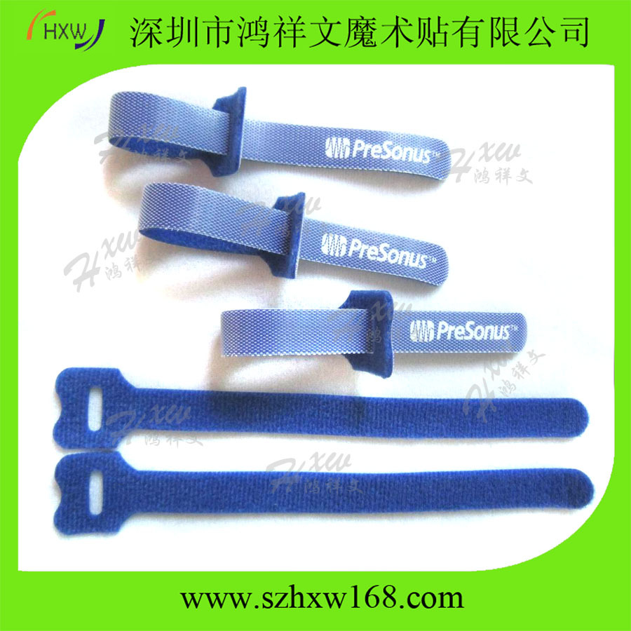 Wholesale hook and loop reusable self gripping cable ties