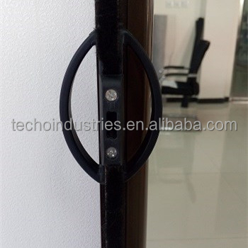 Easy Open and Automatic Close Aluminum Roller Screen Door with Insect Screen
