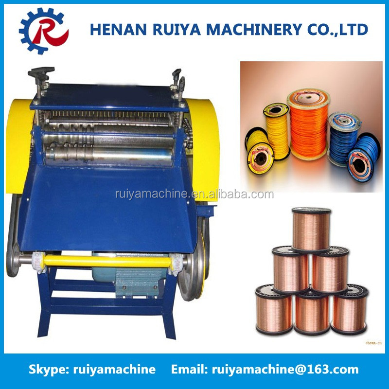 Long Serving Life Scrap Copper Wire Stripper / Copper Wire Stripping Machine / Copper Wire Peeling Machine