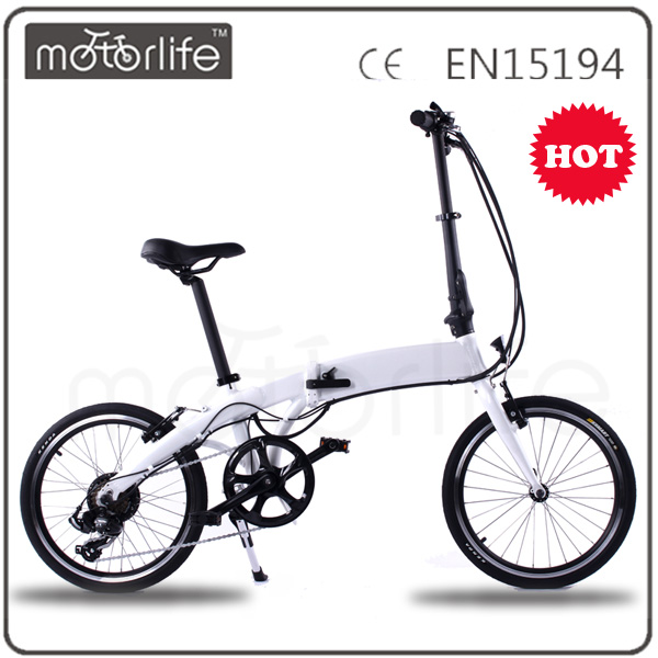 MOTORLIFE good quality 20'' electric bike folding hub motor bike/turkey electric cycle