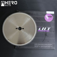 Circular carbide saw blade for laminated board precision cutting