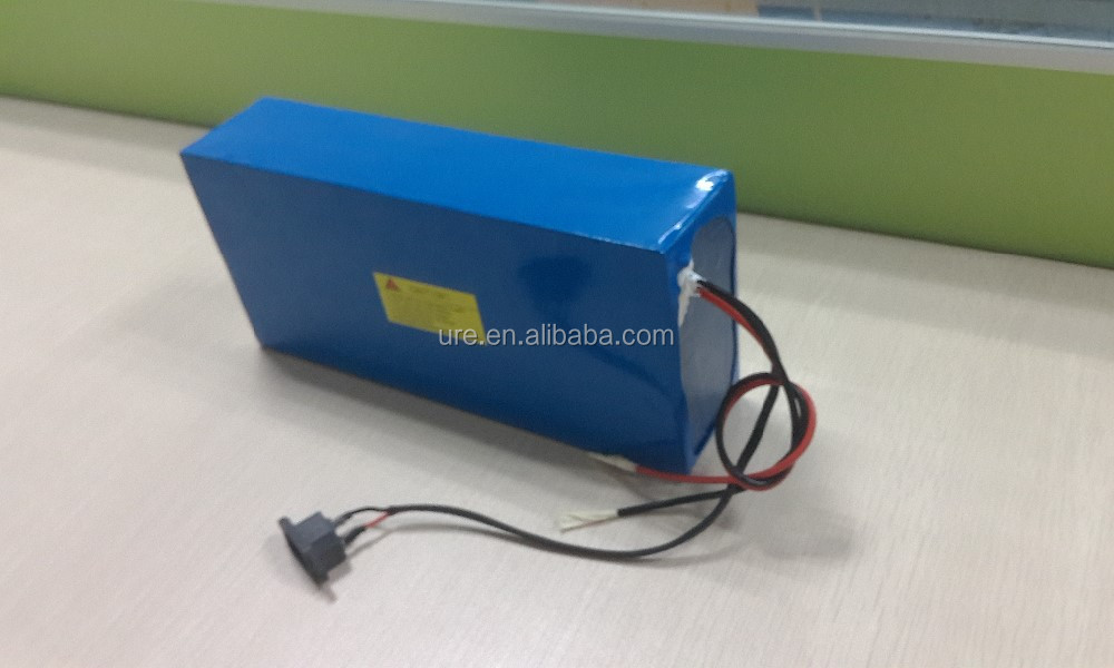 24v 36v 48v lithium ion battery pack with customised capacity 10ah 20ah 30ah 40ah for electric bike