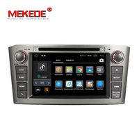 7 inch touch screen car stereo 2 Din android 7.1Car DVD Player with GPS 4GWIFI BT for T OYOTA avensis 2003-2008