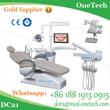 Smart Dental Chair Sale / Hot Sale Dental Chair in Brazil / Dental Chair Instruments with Endoscope , LED Screen Display DC21