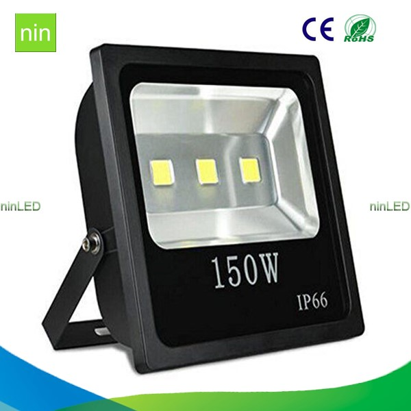 Newest hot sell gas station 150w cob led flood light