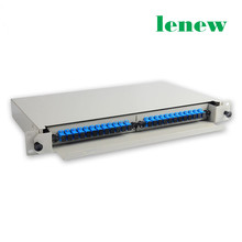 24 Core Fiber Optic SC Distribution Patch Panel ODF Termination Frame