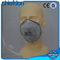 N95 cup shape face mask with actived carbon filter both oil and non-oil particulate, also available for pm 2.5
