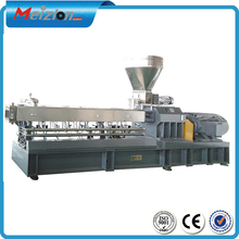 cable material making equipment/ factory price twin screw extruder for different plastic/granulation plant