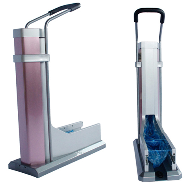 automatic disposable sanitary shoe cover dispenser machine