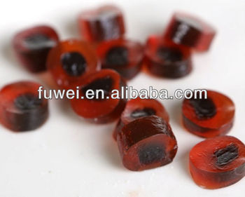 65% fruit jam centre filled soft candy,fuit oozing froot