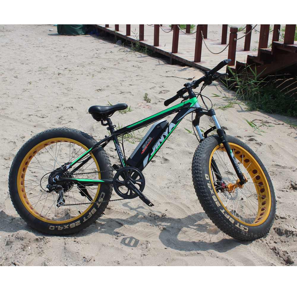 2017 Chinese beach snow e-bike with camouflage frame mountain fat tire electric super bike ebike