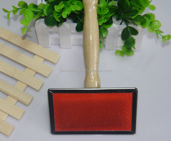 Large dog grooming slicker brush
