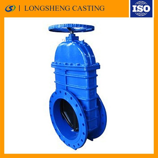 bidirectional knife gate valve for water draining