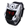 New Cool Men Boys Silicone Strap LED Digital Wristwatches With Red Light Watch Manufacturer Supplier Exporter