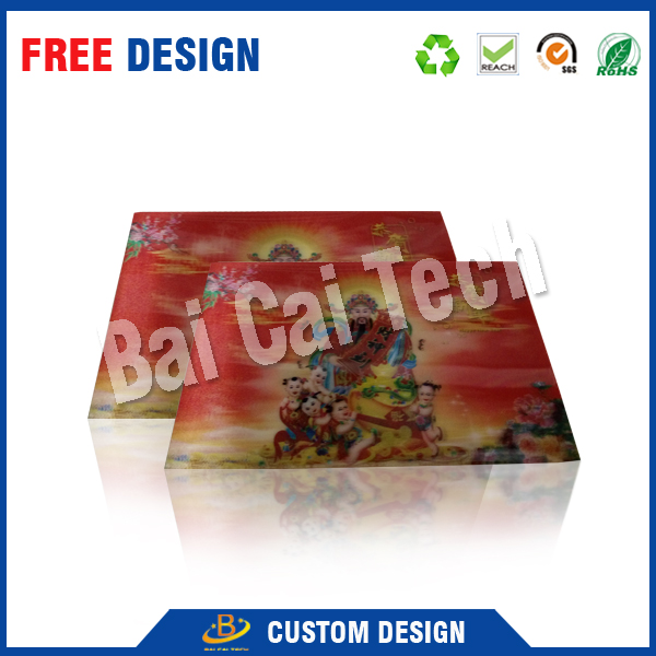 Strong Stereoperception For The 3D Lenticular Product, 3d Postcard