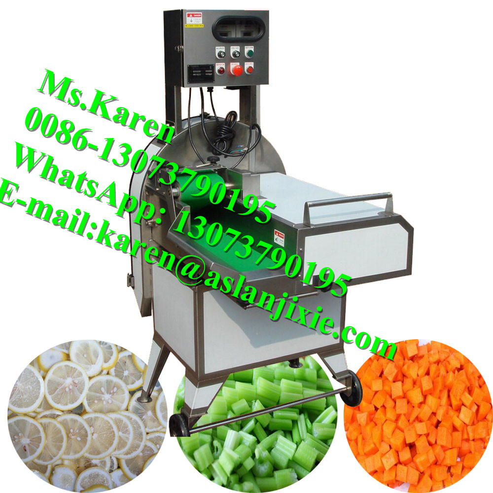 fruit cube dicing machine / lemon slicing machine for commercial use / fruit and vegetable dicer slicer cutter price