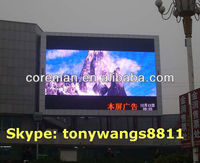 electronic digit programmable commercial video p8 p16 p10 p20 outdoor full color led display for advertising