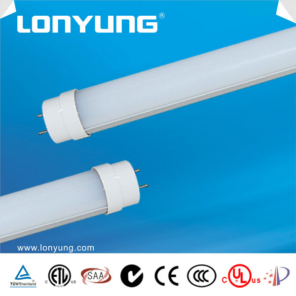 Residential ceiling mount fixture energy star DLC LM79-08 18w t8 led red tube animals