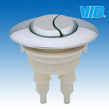 Toilet accessories Dual top push button with 48mm diameter