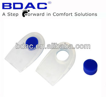 silicone gel foot health heel pain cushion