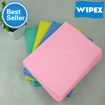 China factory direct sale cleaning room wipes nonwoven fabric and cleansing wipes