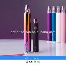 2014 alibaba express China supplier factory price new product variable voltage battery 1100mah ego twist blister pack