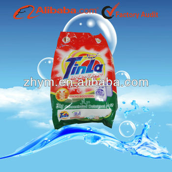 Tinla fresh flower scented and rich foam washing powder detergent